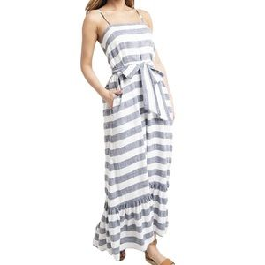 Roller Rabbit striped maxi dress